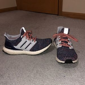 "Women's Size 8 Adidas Ultraboost 4.0 ""multi-color"""